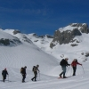 Snowshoeing in the Central Massif